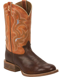 Tony Lama 3R Men's Crocket Stockman Boots, , hi-res