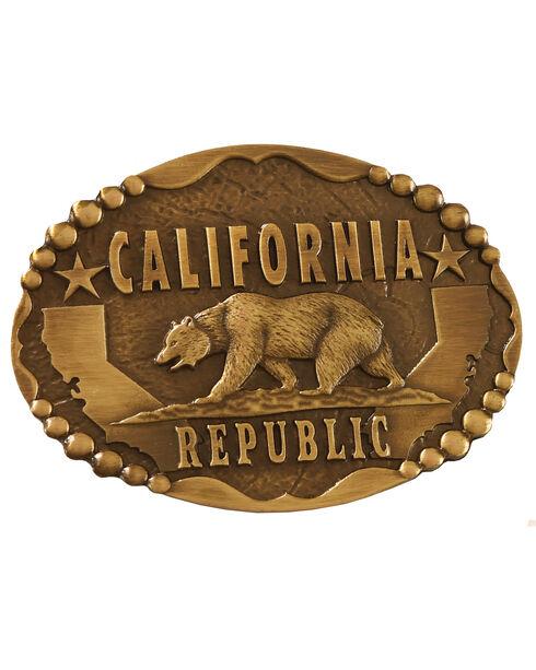 Cody James® California Republic  Belt Buckle, Gold, hi-res