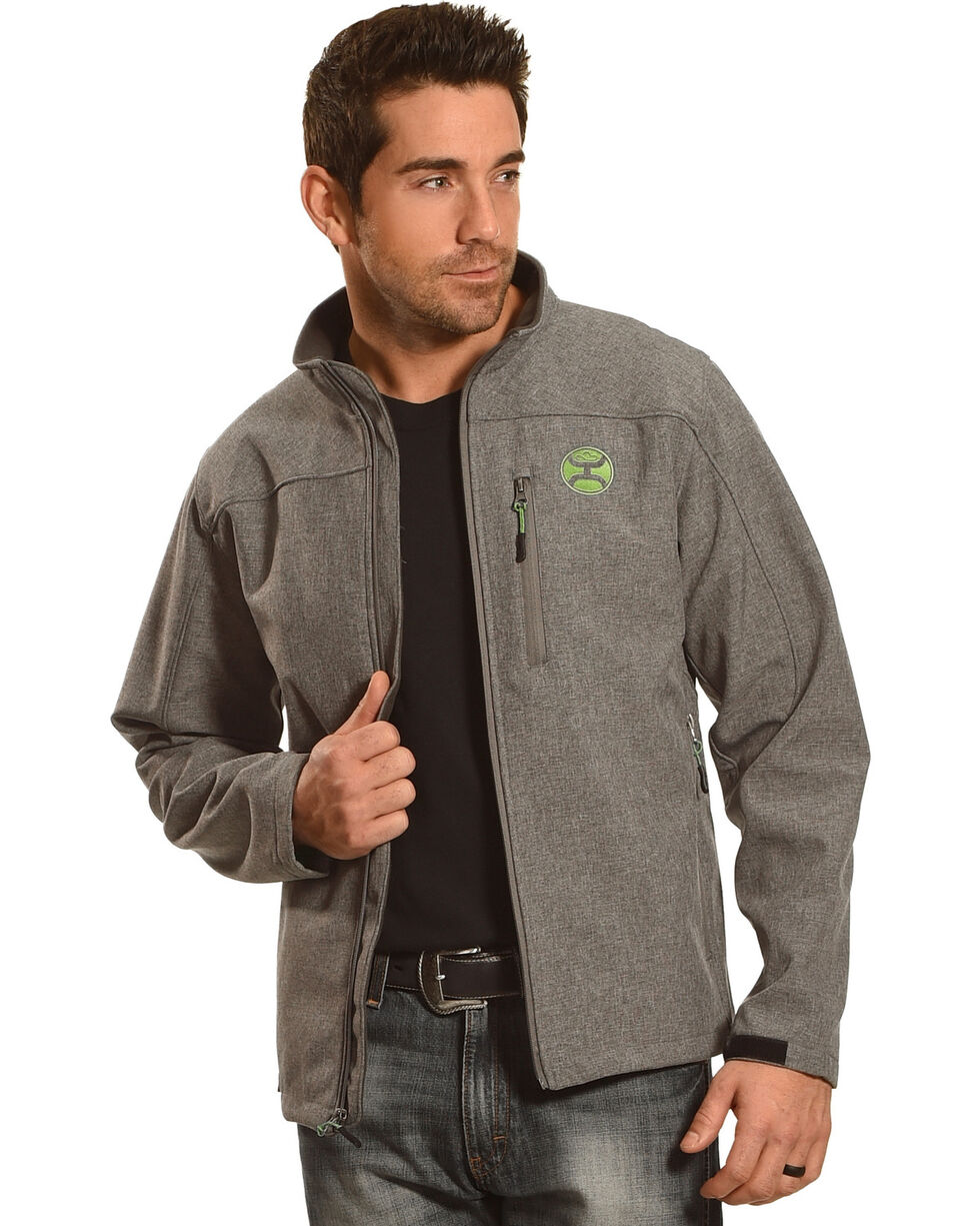 Hooey Men's Zip-Up Soft Shell Jacket, , hi-res