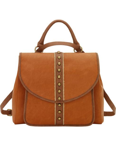 Bandana by American West Women's Oak Creek Back Pack / Shoulder Bag, Golden Tan, hi-res