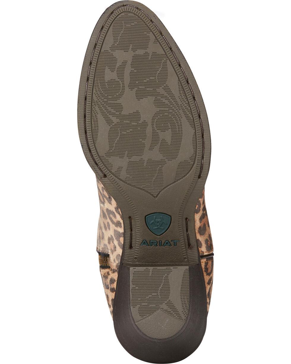 Ariat Women's Leopard Print Darlin Short Boots - Medium Toe, Leopard, hi-res
