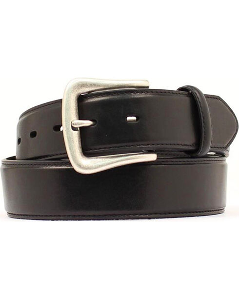 Nocona Black Western Belt - Large, Black, hi-res