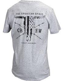 Cowboy Hardware Men's American Spirit Tee, , hi-res