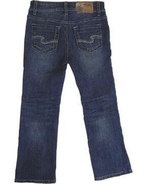 Silver Jeans Boys' Zane Medium Wash Bootcut Jeans, Indigo, hi-res