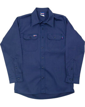 Lapco Flame Resistant Work Shirt, Multi, hi-res