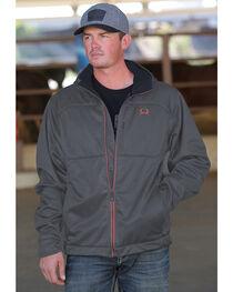 Cinch Men's Grey Hooded Softshell Jacket , , hi-res