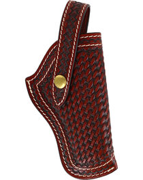 3D Tan Basketweave Revolver Holster, , hi-res