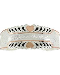 Montana Silversmiths Women's Bright Hearts Cuff Bracelet, , hi-res