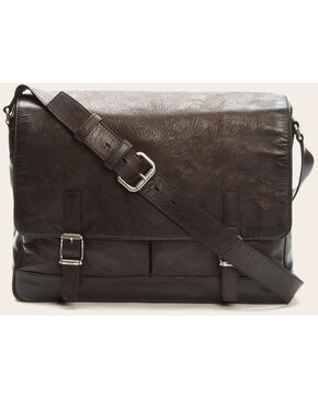 Frye Men's Oliver Messenger Bag , Dark Brown, hi-res