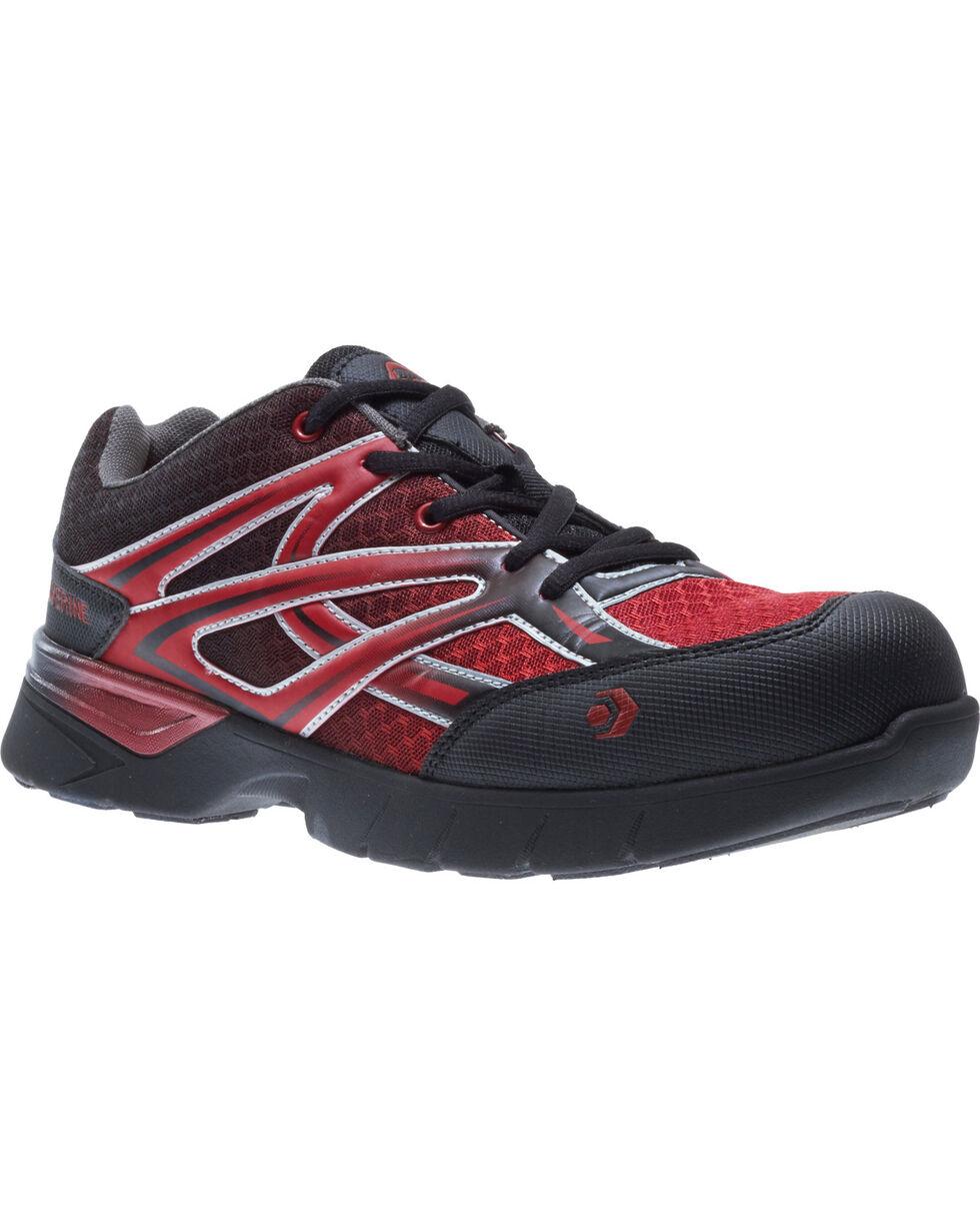 Wolverine Men's Jetstream Work Shoes - Composite Toe, Black, hi-res