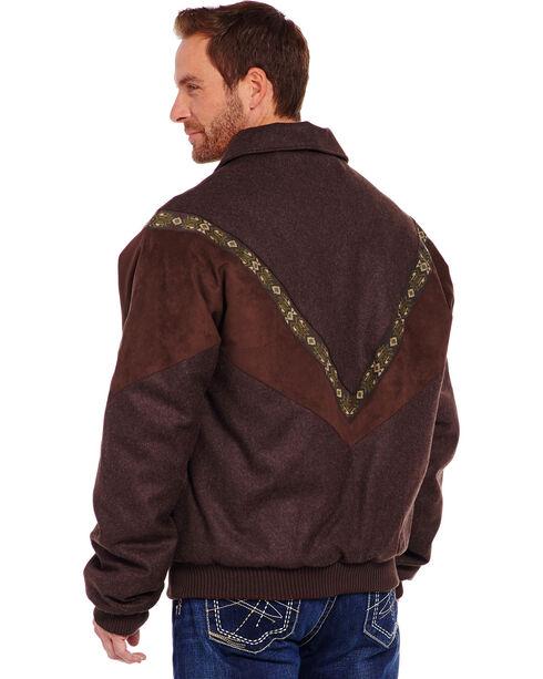 Cripple Creek Men's Wool Melton Jacket, Chocolate, hi-res