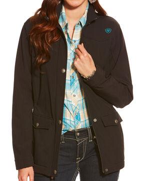 Ariat Valley Women's Softshell Jacket  , Black, hi-res