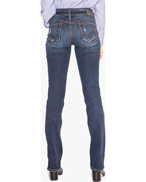 Silver Women's Indigo Suki Slim Fit Jeans - Boot Cut , Indigo, hi-res