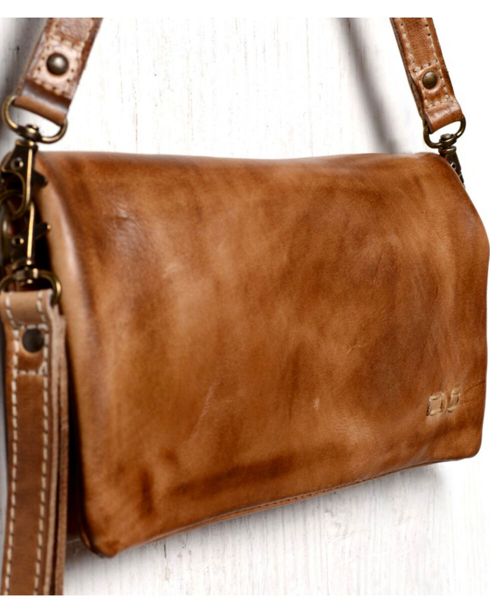 Bed Stu Women's Cadence Tan Rustic Wallet/Clutch/Crossbody Bag, Tan, hi-res