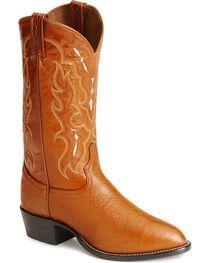 Tony Lama Men's Smooth Ostrich Exotic Western Boots, , hi-res