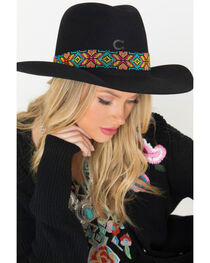 Charlie 1 Horse Women's Gold Digger 5X Hat , , hi-res