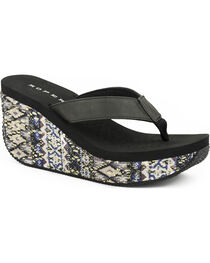 Roper Women's Gina Wedge Sandals, , hi-res