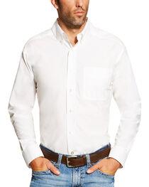 Ariat Men's White Alden Shirt , , hi-res
