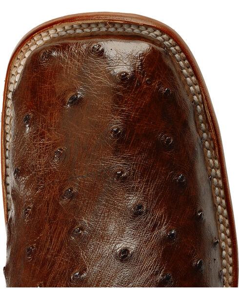 Ferrini Full Quill Ostrich Cowboy Boots - Wide Square Toe, Kango, hi-res