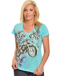 Liberty Wear Women's Ride On Tee, , hi-res