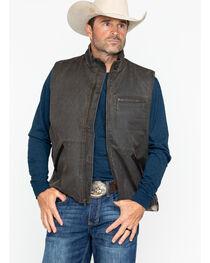 Cody James® Men's Dusty Zippered Vest , , hi-res