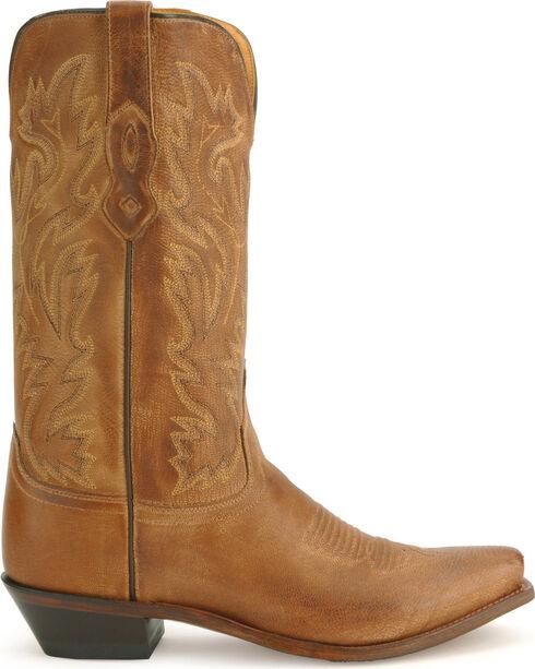 Old West Contemporary Cowboy Boots, Tan, hi-res