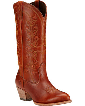 Ariat Desert Holly Cedar Brown Cowgirl Boots - Medium Toe, Cedar, hi-res