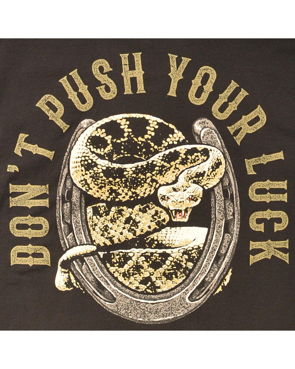 Cody James® Men's Don't Push Your Luck T-Shirt, , hi-res