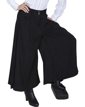 Scully Women's Split Riding Skirt, Black, hi-res