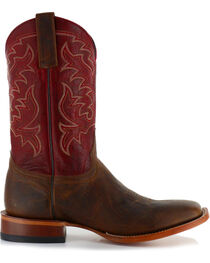 Moonshine Spirit Men's Square Toe Western Boots, , hi-res
