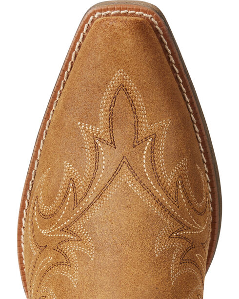 Ariat Women's Tan Round Up Renegade Western Boots - Snip Toe , , hi-res