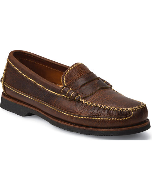 Chippewa Men's Rugged Casual Penny Loafers, Brown, hi-res