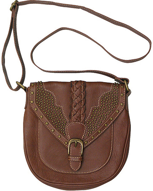 Trenditions Women's Brown Kindred Soul Reagan Crossbody Bag , Brown, hi-res