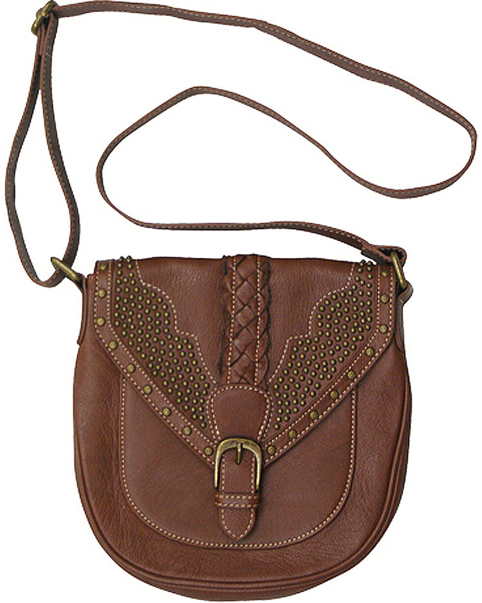 Trenditions Women's Brown Kindred Soul Reagan Crossbody Bag , Brown, hi-res