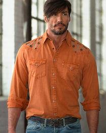 Ryan Michael Men's Silk Gabardine Shirt, , hi-res