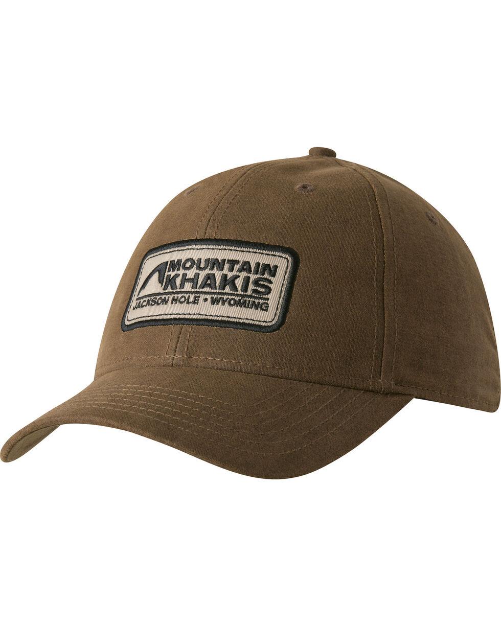 Mountain Khakis Men's Brown Waxed Cotton Cap , Brown, hi-res