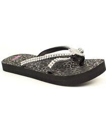 Blazin Roxx Hayley Cross Flip Flops, , hi-res