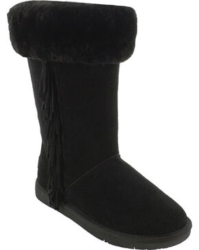 Minnetonka Women's Canyon Boots, Black, hi-res