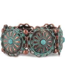 Shyanne® Women's Antiqued Concho Bracelet, , hi-res