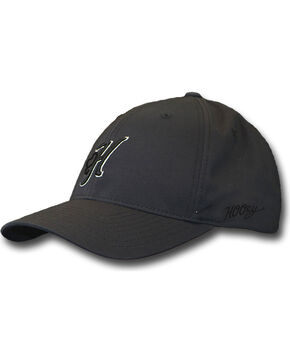 Hooey Men's Legend III Snapback Cap, Black, hi-res