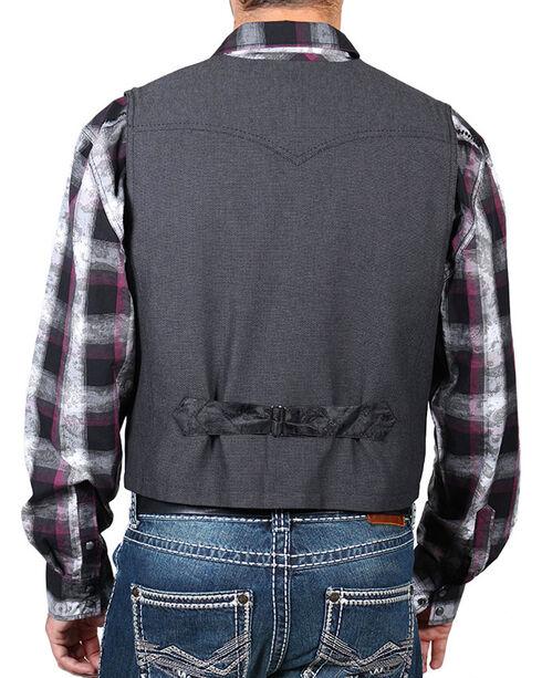 Moonshine Spirit® Men's Button Through Vest, Grey, hi-res