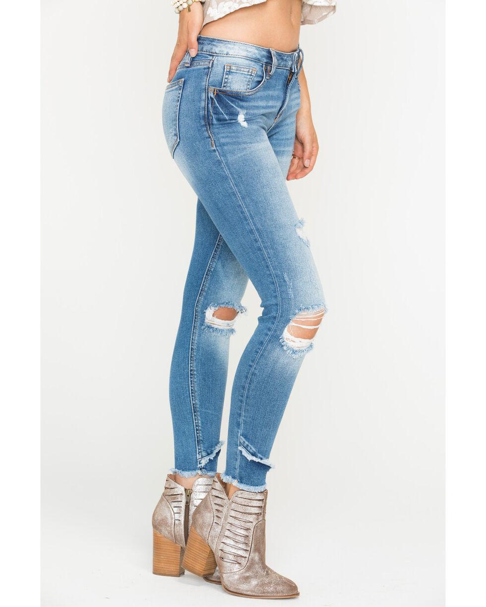 Miss Me Women's Let It Rip Ankle Skinny Jeans , Indigo, hi-res