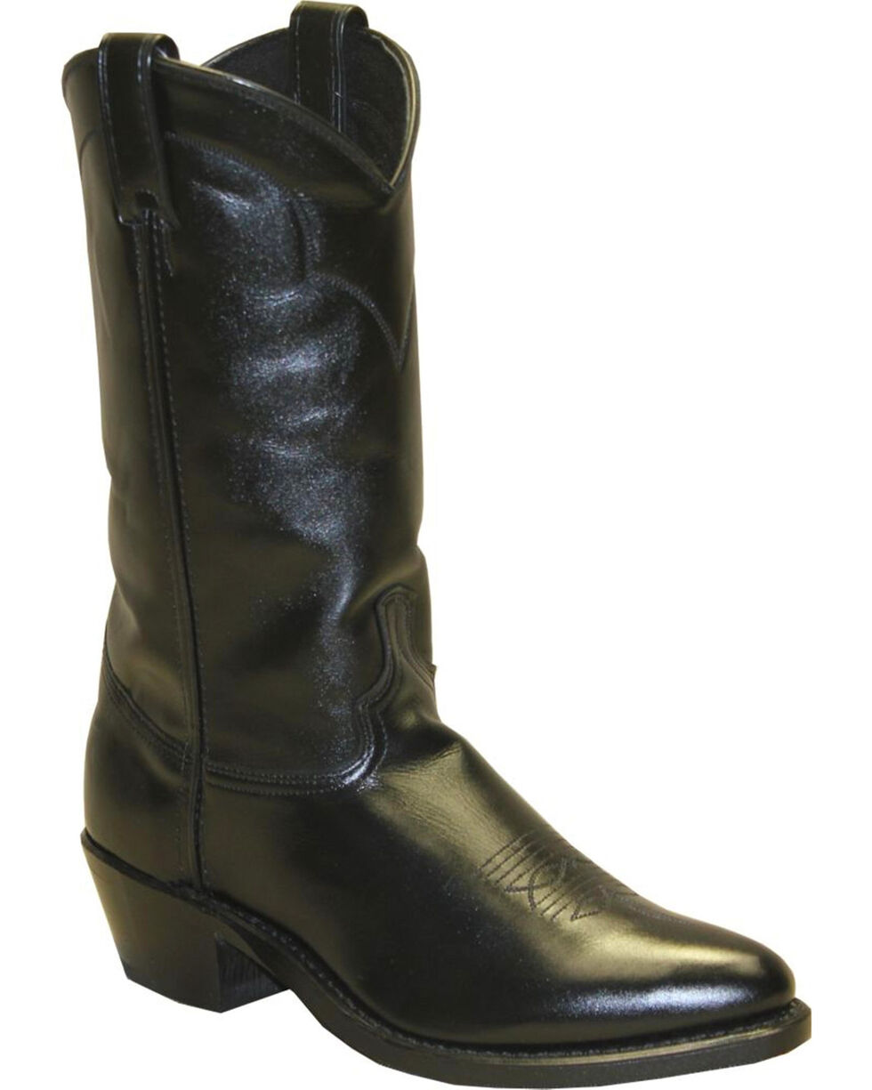 "Abilene Men's 12"" Western Boots, Black, hi-res"