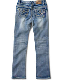 Silver Girls' Tammy Bootcut Jeans - 7-16, , hi-res