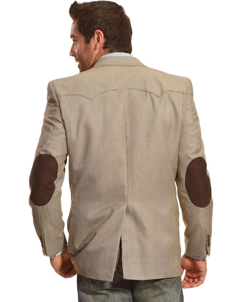 Circle S Men's Lubbock Elbow Patch Sport Coat - Big & Tall, Brown, hi-res