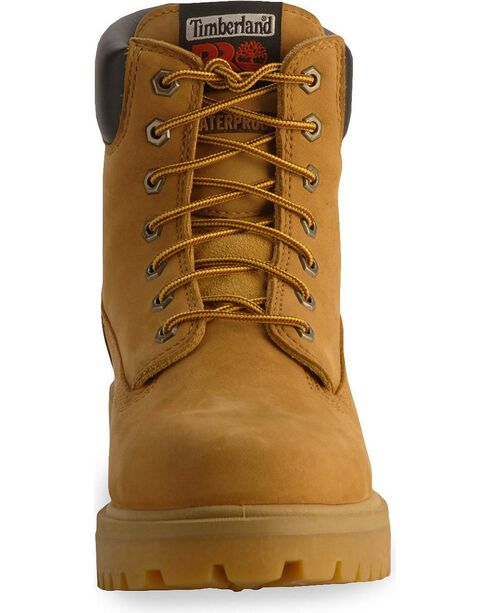 Timberland Pro Men's Waterproof Work Boots, Wheat, hi-res
