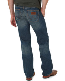 Wrangler Men's Blue Banjo Retro Jeans - Boot Cut, , hi-res