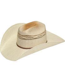 Twister Men's Two-Tone Bangora Straw Cowboy Hat, , hi-res