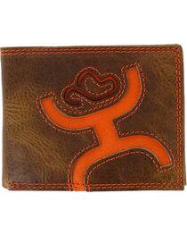 Hooey Men's Signature Leather Bi-Fold Wallet, , hi-res