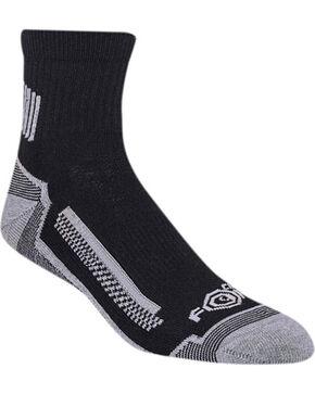 Carhartt Men's 3 Pack Performance Socks, Black, hi-res
